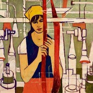 Operaia tessile - Clifford Rowe (1904-1988)